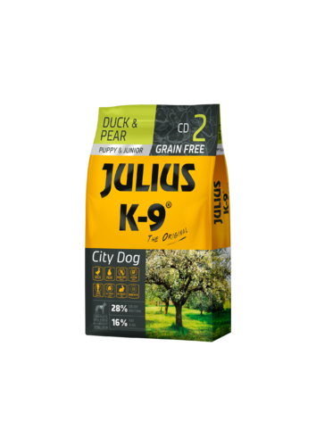 JULIUS-K9 ® Puppy and Junior  Duck and Pear