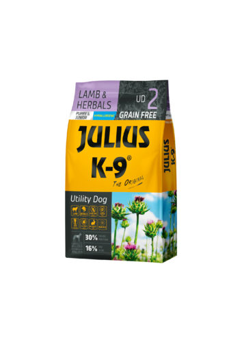 JULIUS-K9 ® Puppy and  Junior Lamb and Herbs