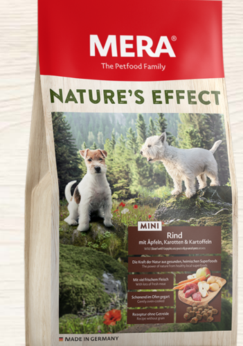 MERA Nature's Effect MINI Beef with apple, carrost & potatoes