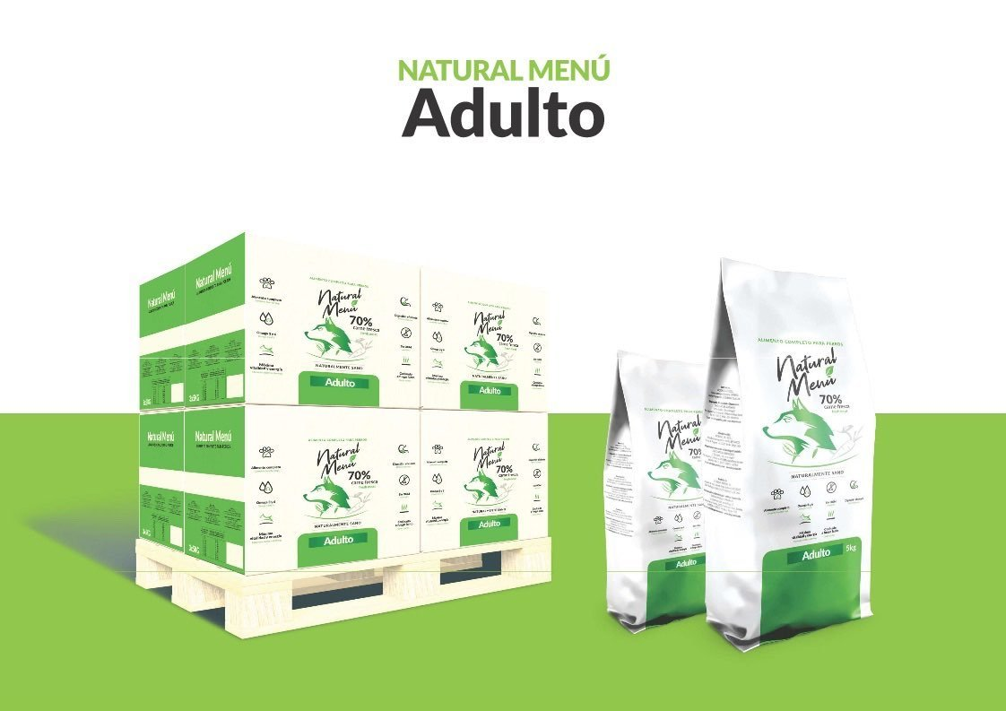 NM 1,5kg Adulto Natural Menu