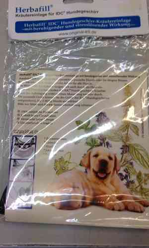 Herbafill pad for anxious dogs
