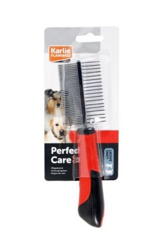 Double comb for dog