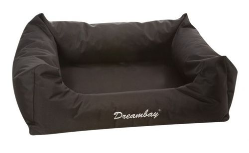 Strong Fabric sof dog bed 100 cm black