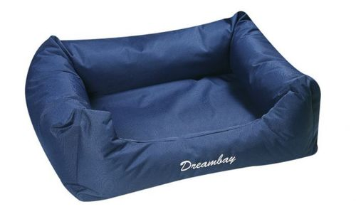 Strong fsbric soft dog bed 120 cm blure
