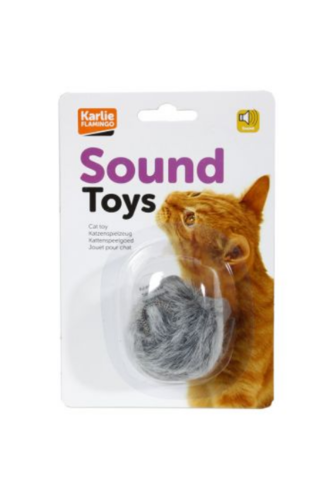 Cat play mouse w sound 7cm