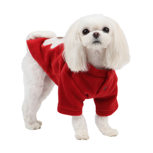 PUPPIA fleececoat for dog red M