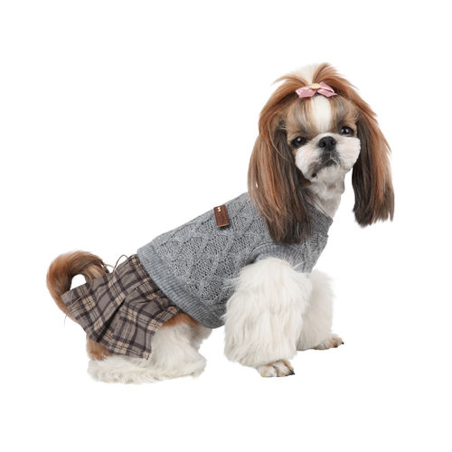 PUPPIA knitted dress for  dog