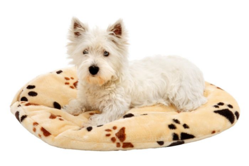Dog mattress beige 110cm