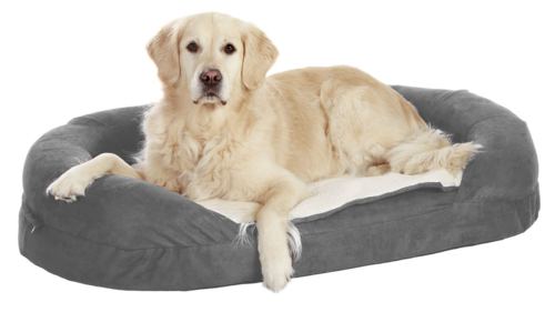 Orthobed for dog grey 72x50x20cm