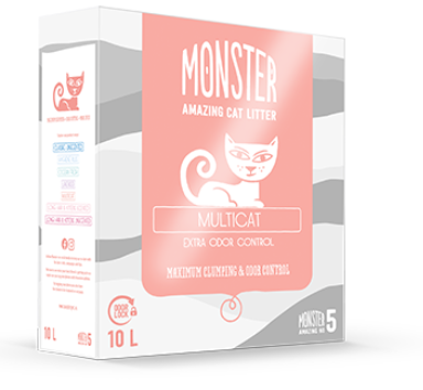 Monster multicat kissanhiekka 10 litr